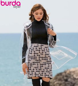 Burda Style September Mini-Rok 102B