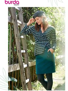 Burda Style November Blouse 107