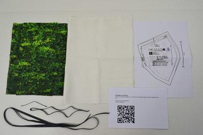 Mondkapje Bouwpakket met Print