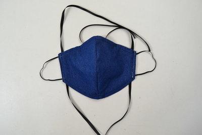 Mondkapje Jeans Blauw Maat L