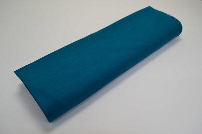 Stretch Linnen Waterblauw
