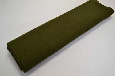 Cotelé Jersey Leger groen