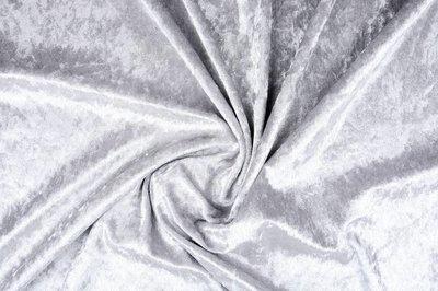 Velours de Panne Zilver