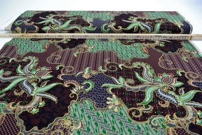 Batik Stoffen design 5
